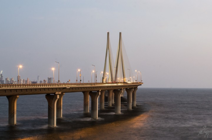 Bandra Worli Sealink, 55 mm