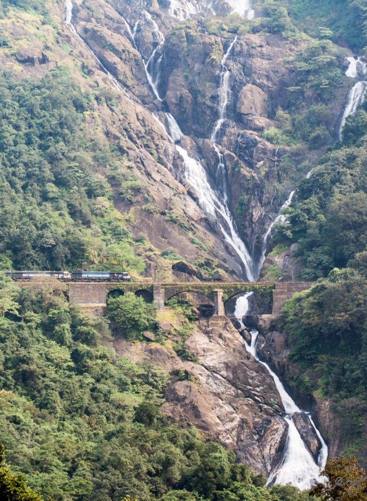 At the far end, Trains, Dudhsagar
