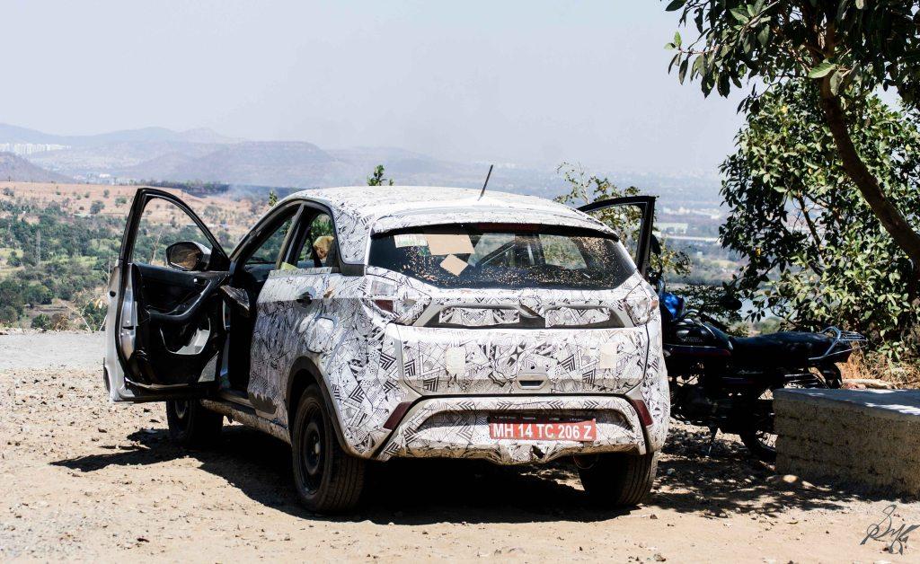 Tata Nexon car test driving