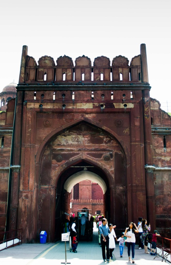 Lahori Gate, Red Fort, India