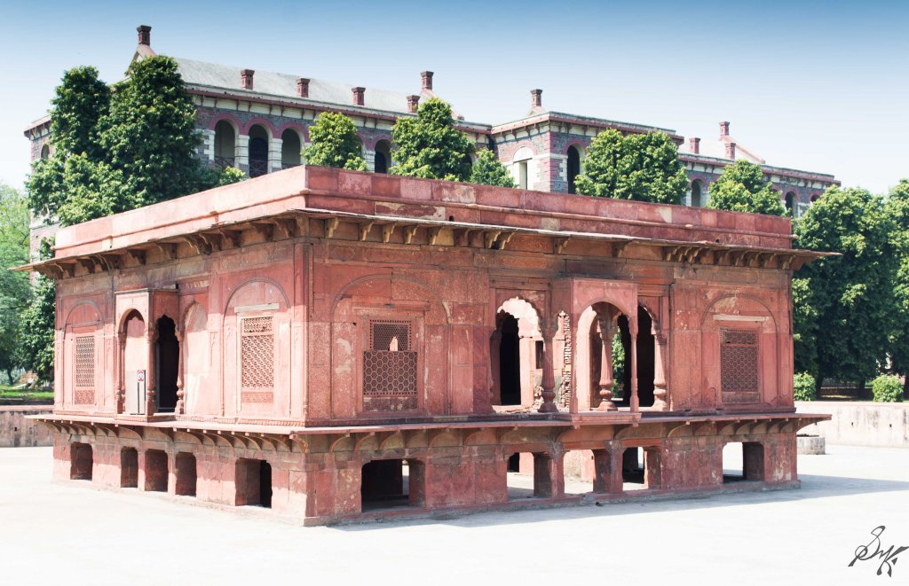 Zafar Mahal, Red Fort, India