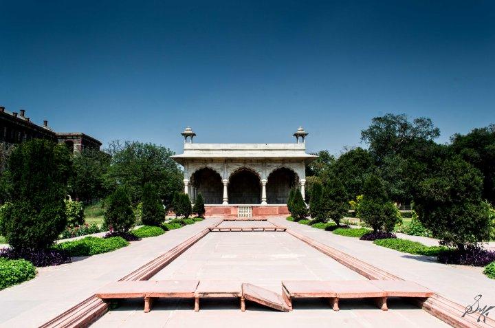 Sawan Bhadon Pavallion, Red Fort, India