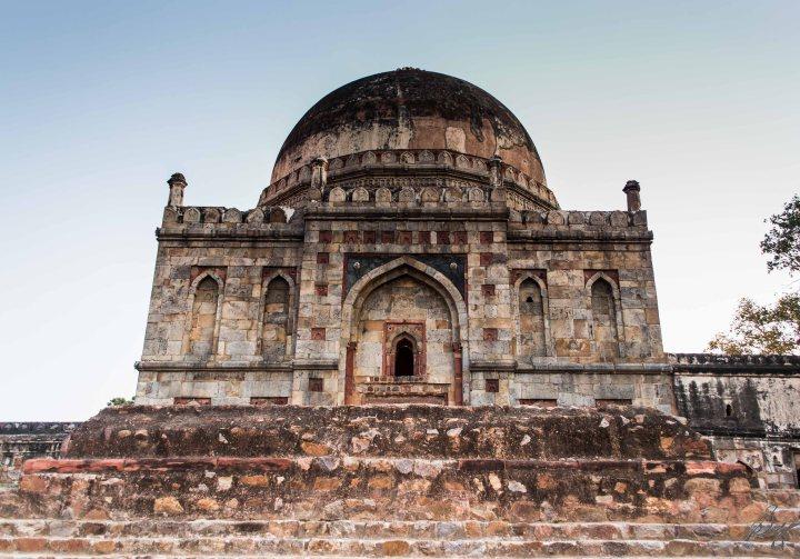 Dome in Lodi Gardens, New Delhi, India