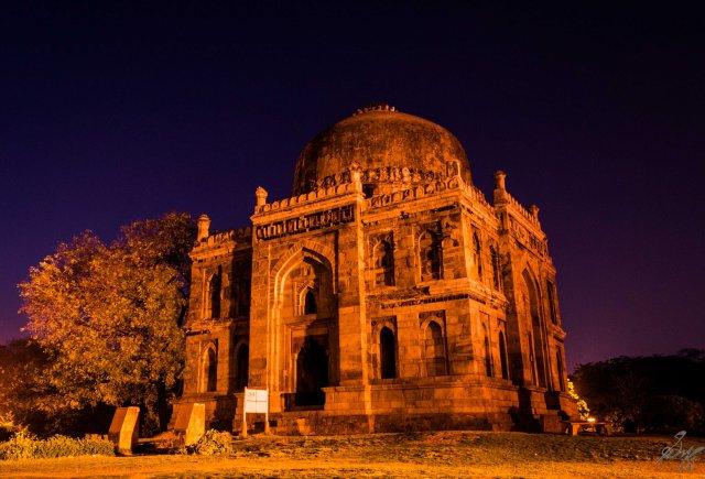 Long Exposure, Lodhi Gardens, New Delhi