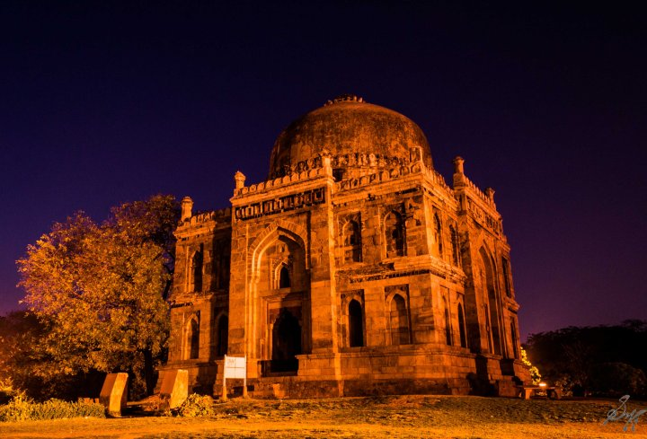 One of the tombs in the Lodi Gardens, New Delhi, India