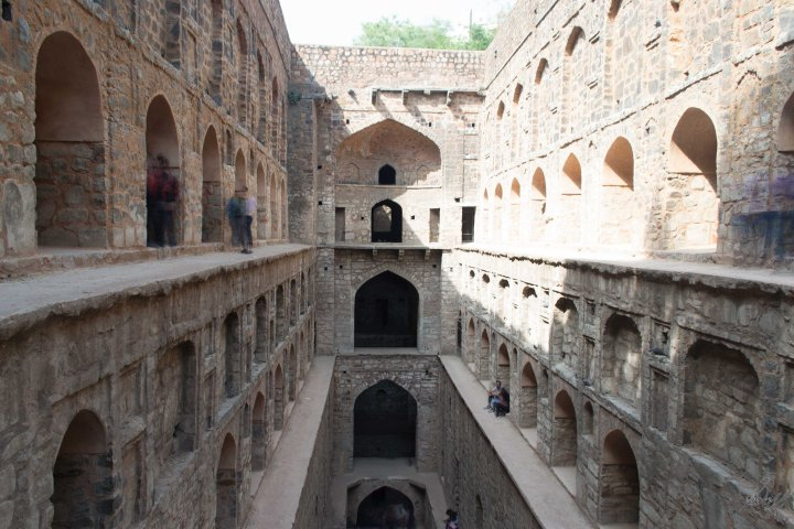 The Agrasen Ki Baoli, New Delhi, India