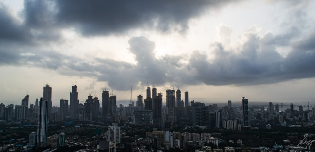 High Rise buildings at Mumbai