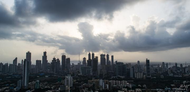High Rise buildings at Mumbai