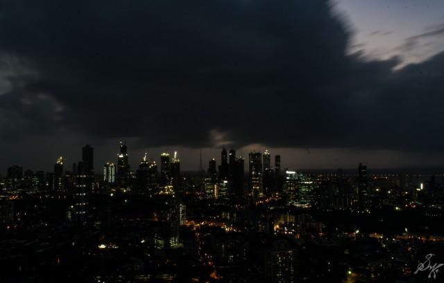 Tall towers of Worli, Mumbai, India