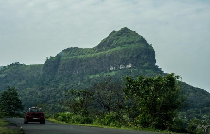 Hillscape enroute Tamhini Ghat