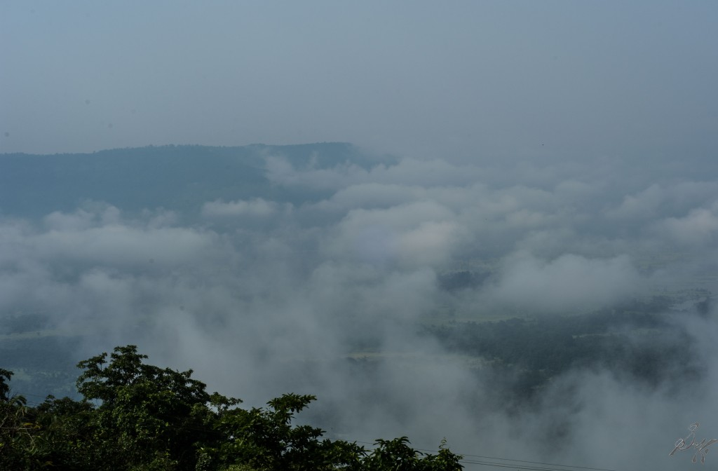 Clouds enroute to Diveagar