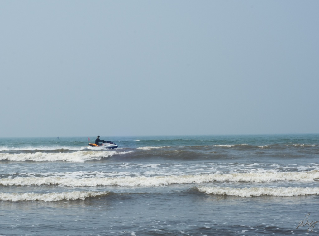 Water Scooter at Diveagar Beach