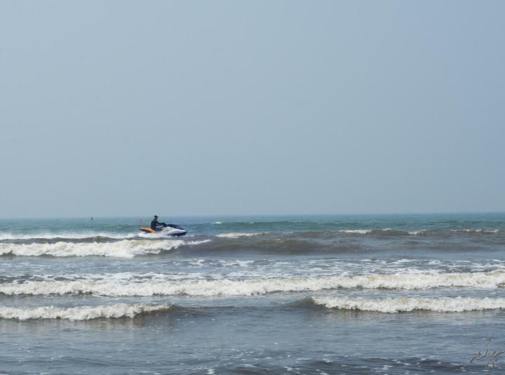 Water Scooter at Diveagar Beach