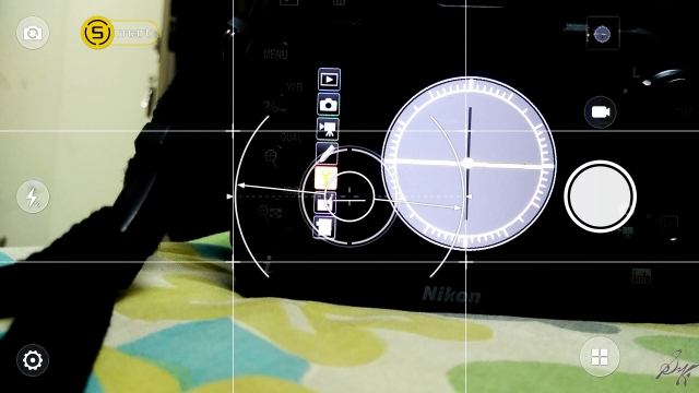 Artificial Horizon, Lenovo K6 Power, Nikon D7200, Level Indicator