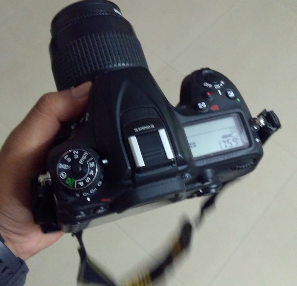 Nikon D7200, Manual Mode setting