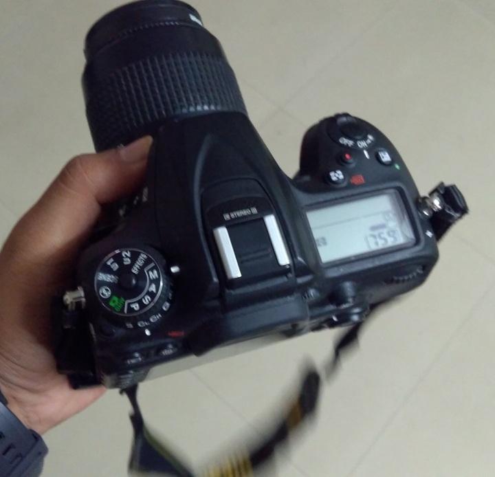 Nikon D7200, Manual Mode setting