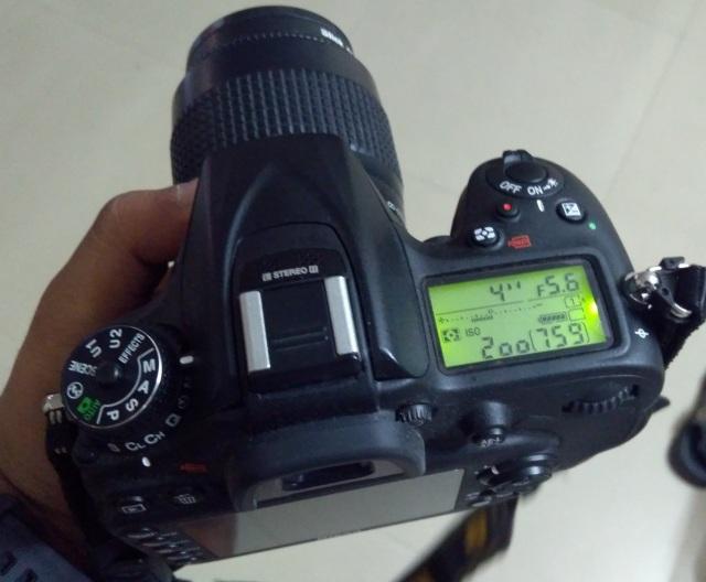 Nikon D7200, Aperture Priority Mode setting
