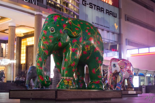 Green Elephant from Elephant Parade, Mumbai