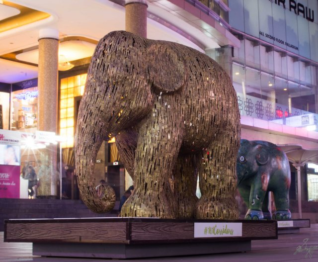Brown Exotic Elephant from Elephant Parade, Mumbai