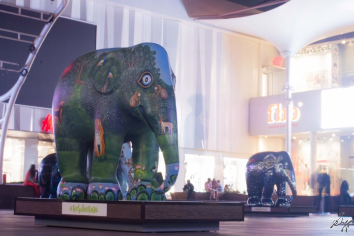 Forest Elephant from Elephant Parade, Mumbai