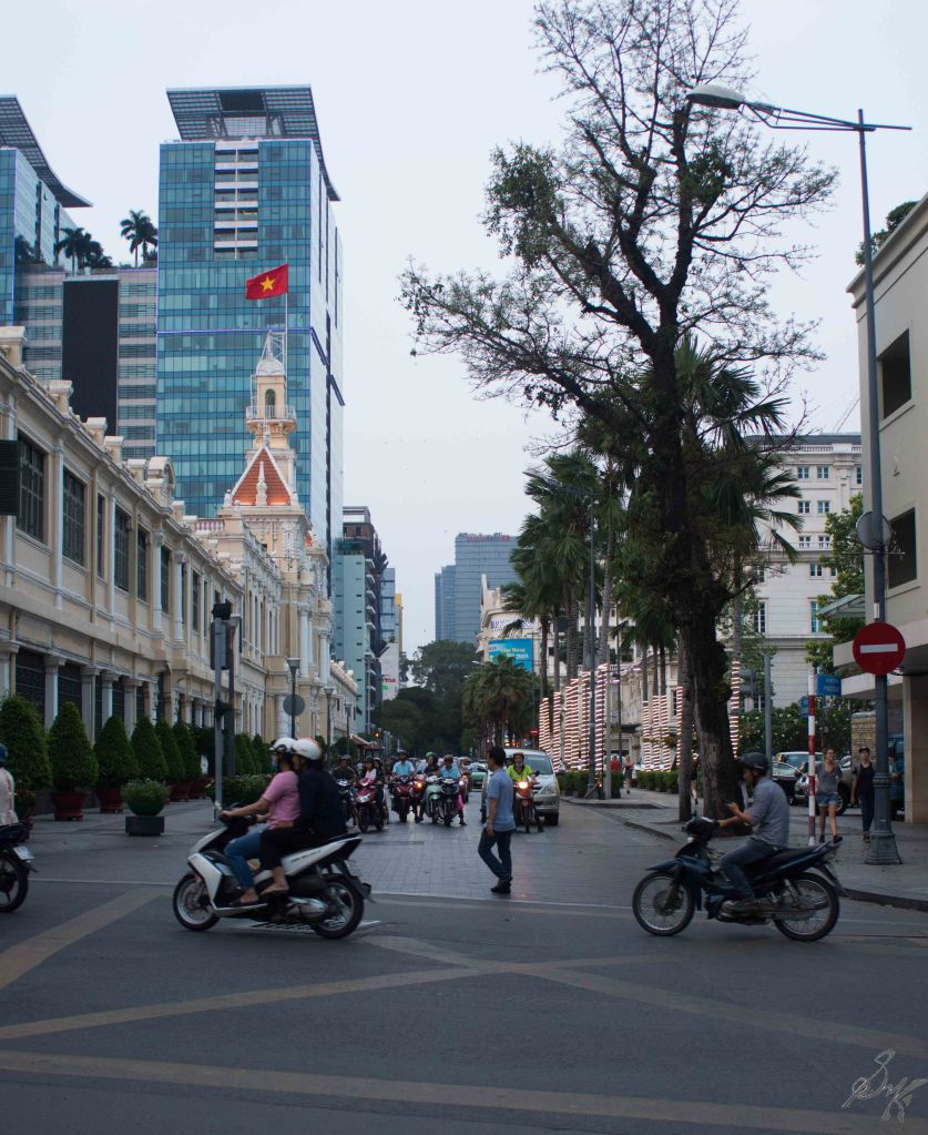 A street in Saigon