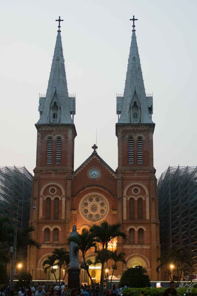 The Notre Dame Cathedral, Saigon