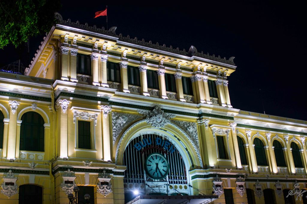 The Central Post Office, Saigon