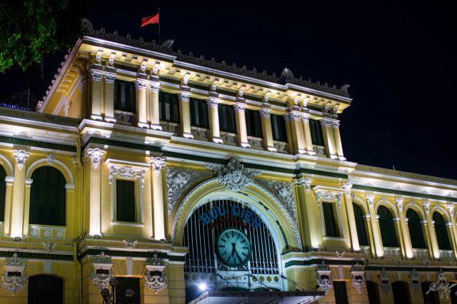 The Central Post Office, Saigon