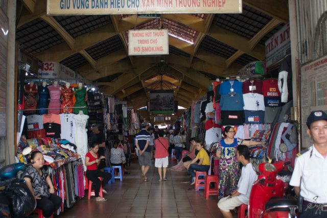 The Ben Thanh Market, Saigon