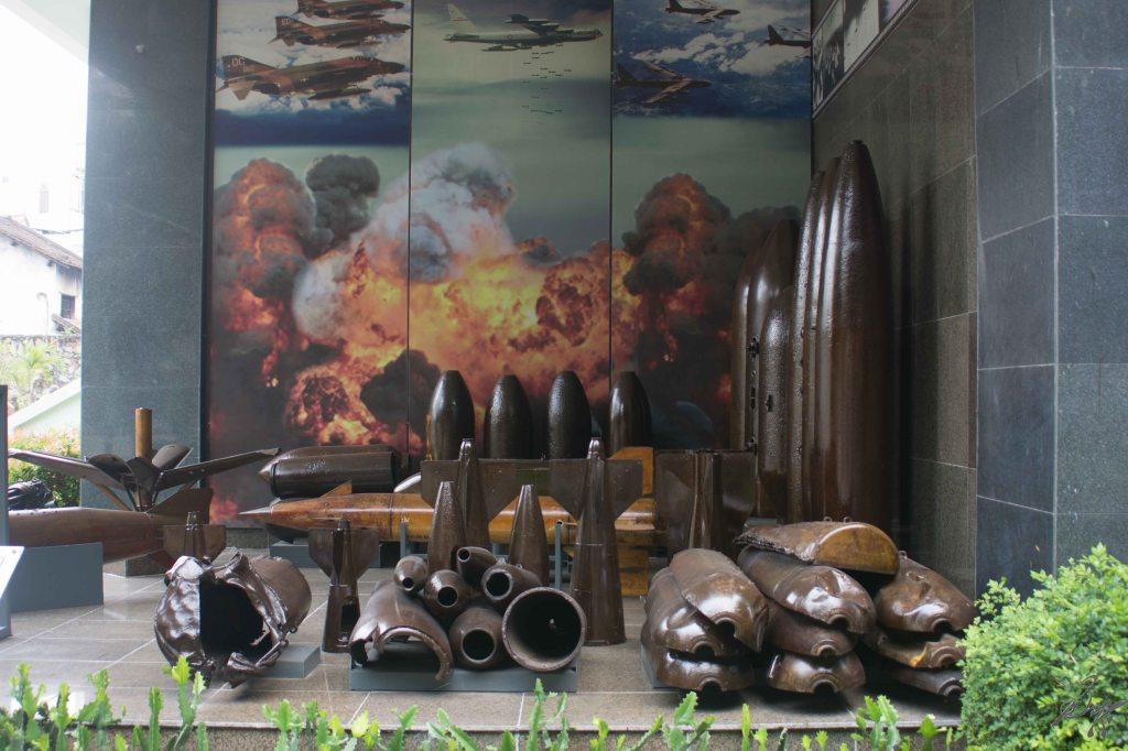 Shells from the Vietnam War, War Remnants Museum, Saigon