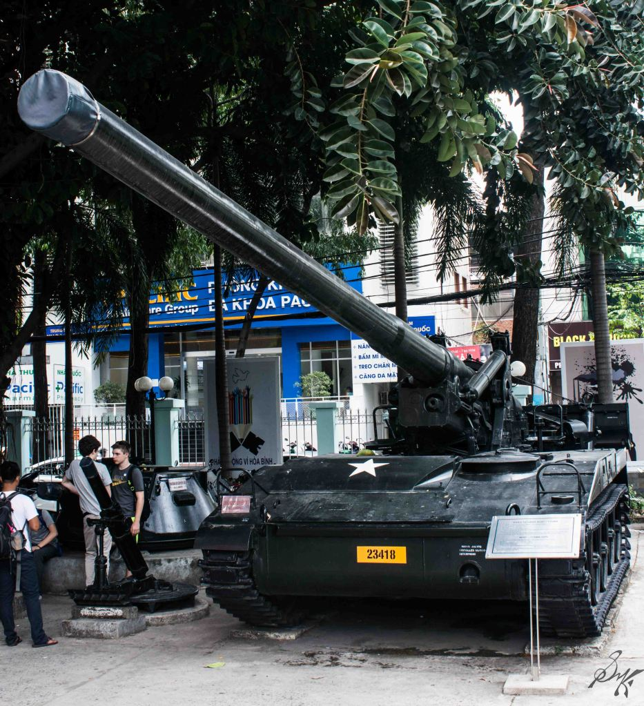 Tanks from the Vietnam War, War Remnants Museum, Saigon