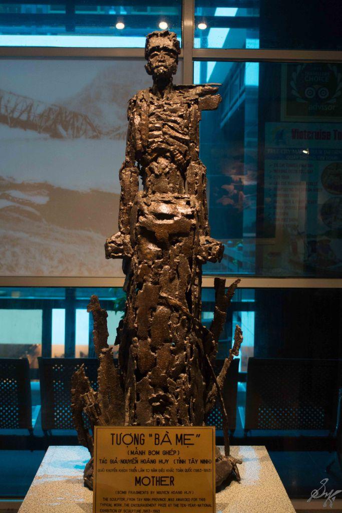 Relics from the Vietnam War, War Remnants Museum, Saigon