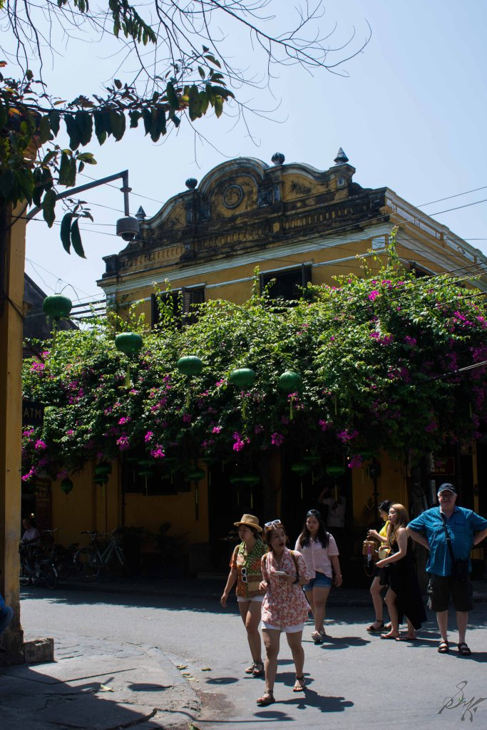 Buildings with french influences, Hoi An