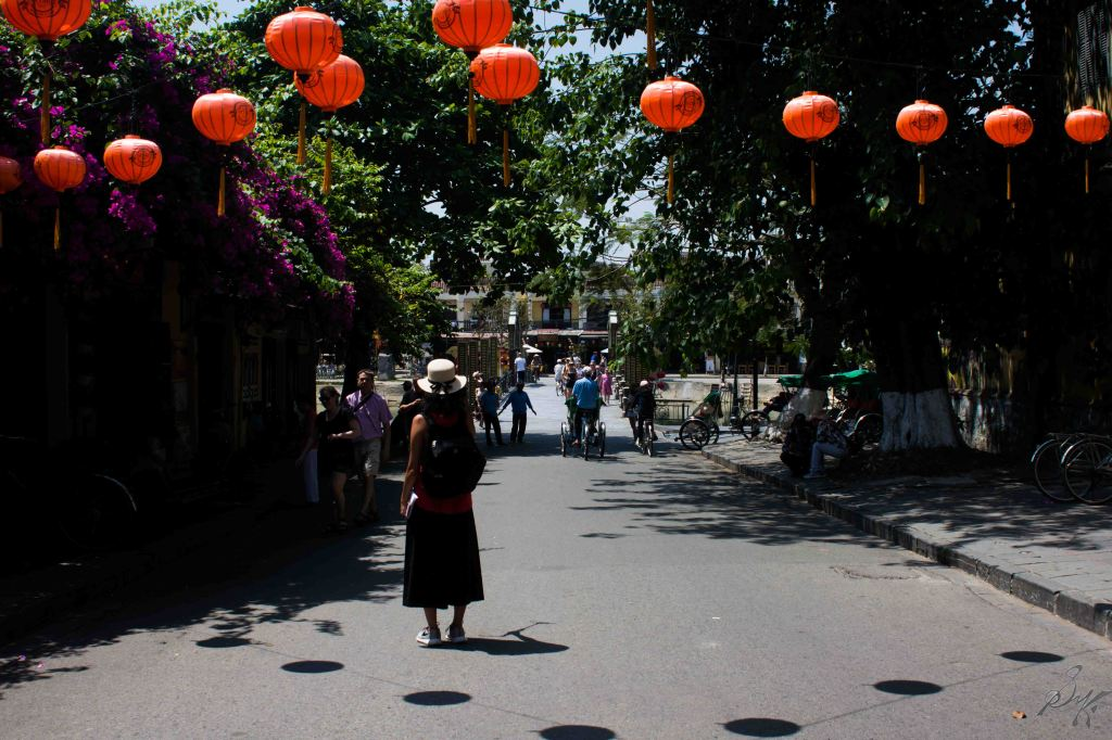 A street in the old town, Hoi An