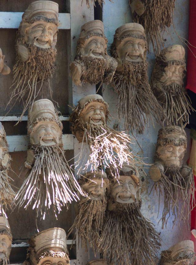 Weird artefacts on the streets, Hoi An