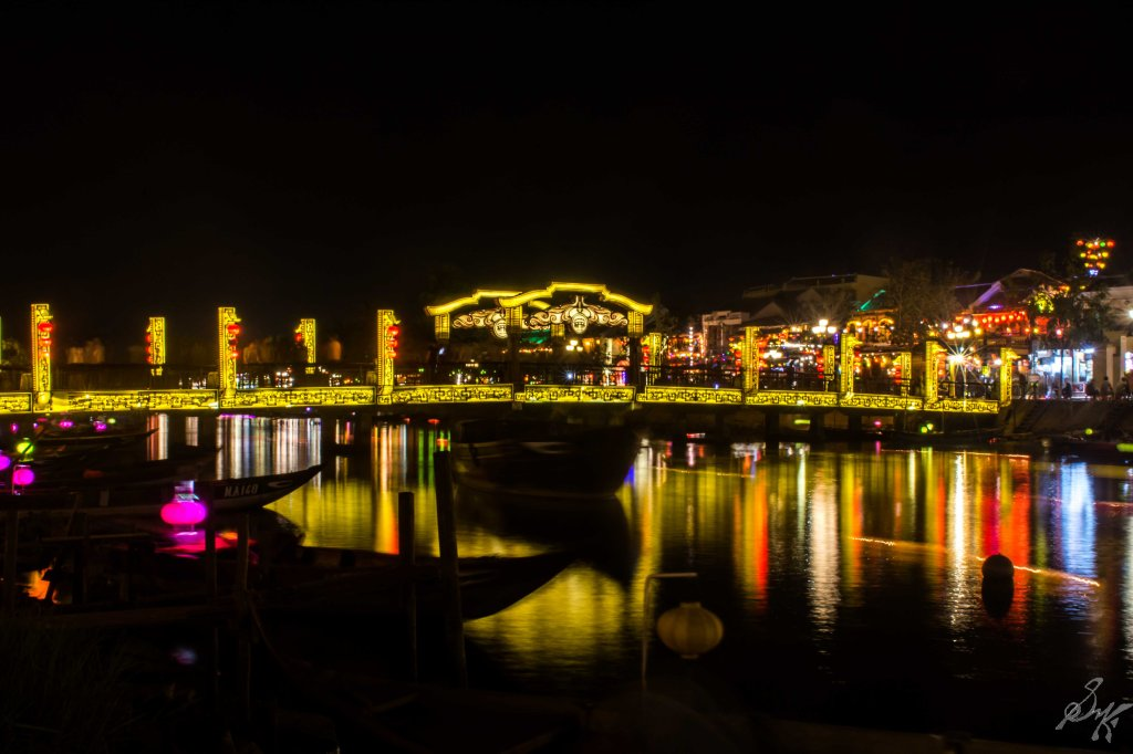 The Bridge of Lights, An Hoi Bridge, Hoi An, Vietnam