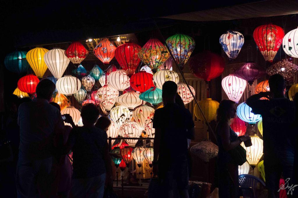 Lamps for sale, Hoi An, Vietnam