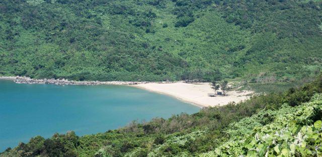 A hidden, secluded, virgin, beach