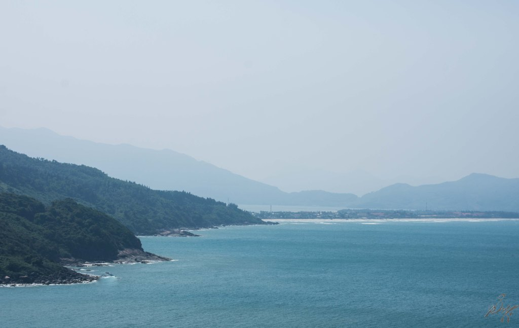 The sea on the eastern shore, Vietnam