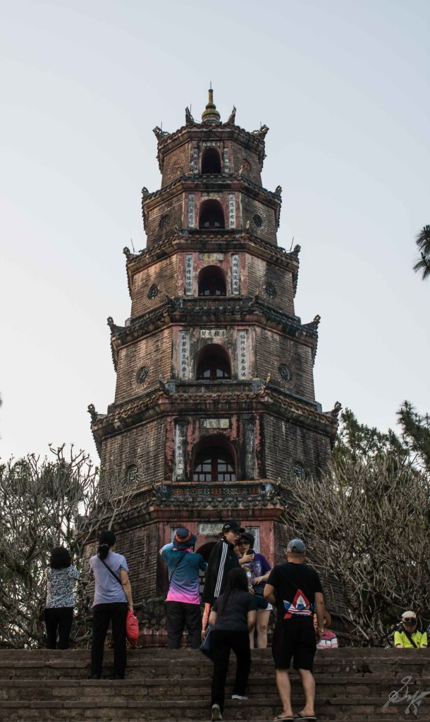 The Thien Mu Pagoda, Hue, Vietnam