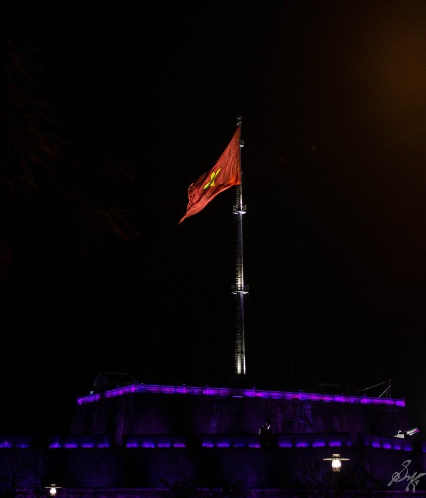 The Vietnamese Flag, Imperial Citadel, Hue, Vietnam