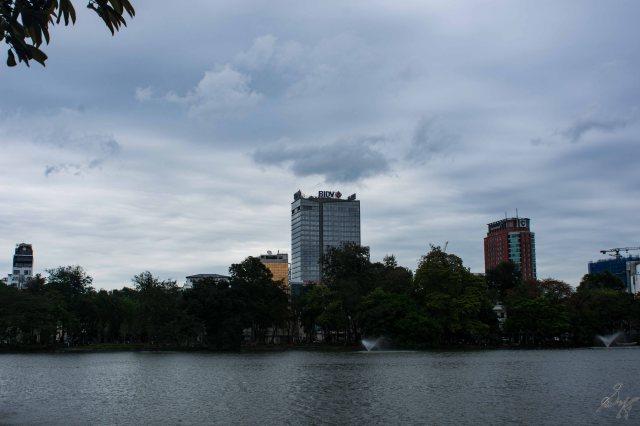 The Hoan Kiem Lake, Hanoi, Vietnam
