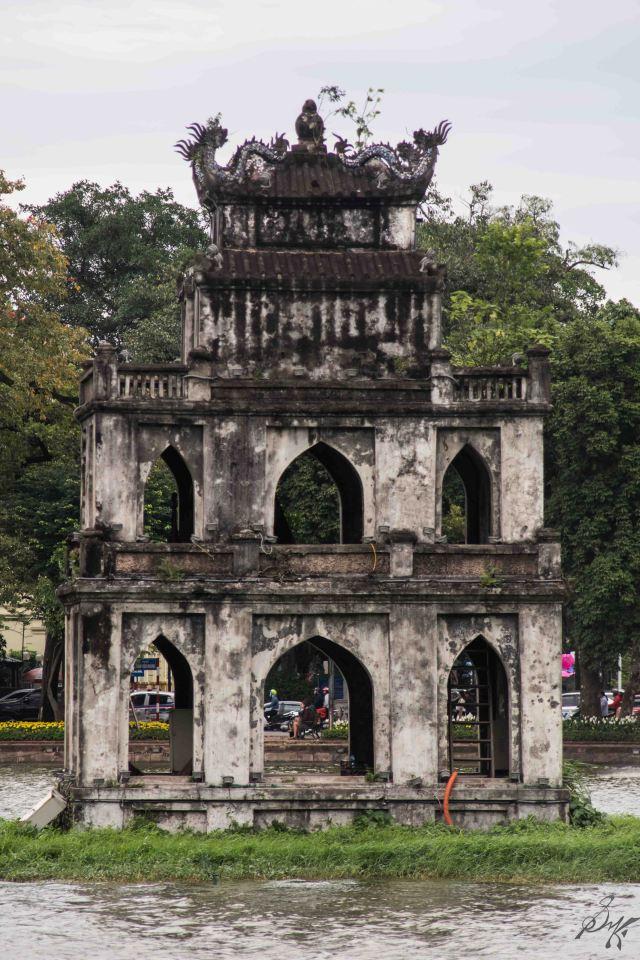 The Turtle Tower, Hanoi, Vietnam