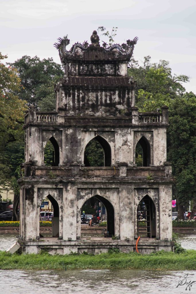 The Turtle Tower, Hanoi, Vietnam