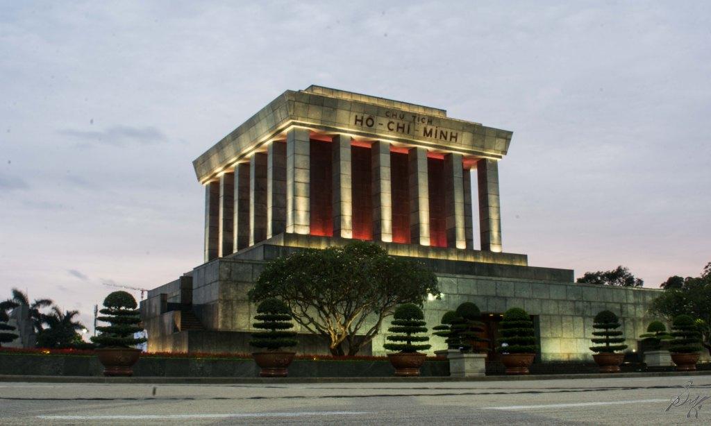 The Ho Chi Minh Mausoleum, Hanoi, Vietnam