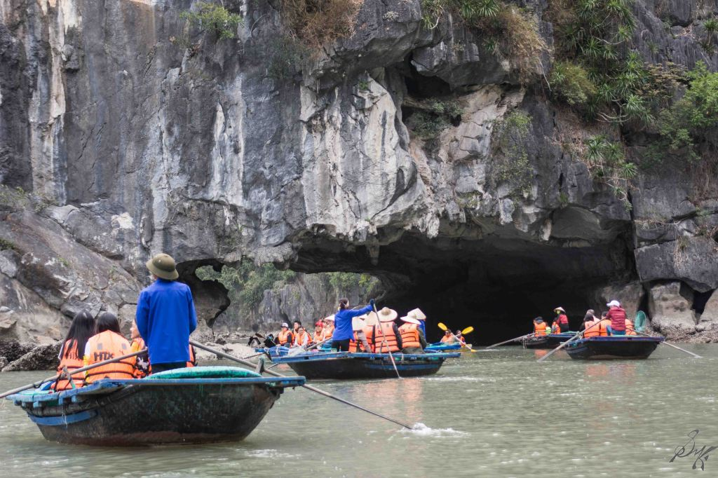 Boating, Ha Long Bay, Vietnam