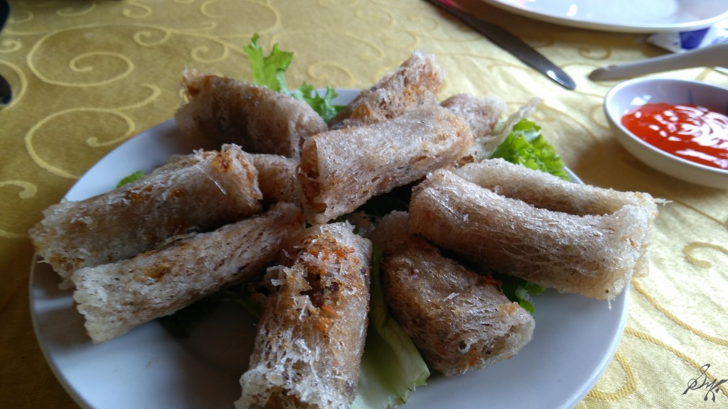 Rice Rolls, Ha Long Bay, Vietnam