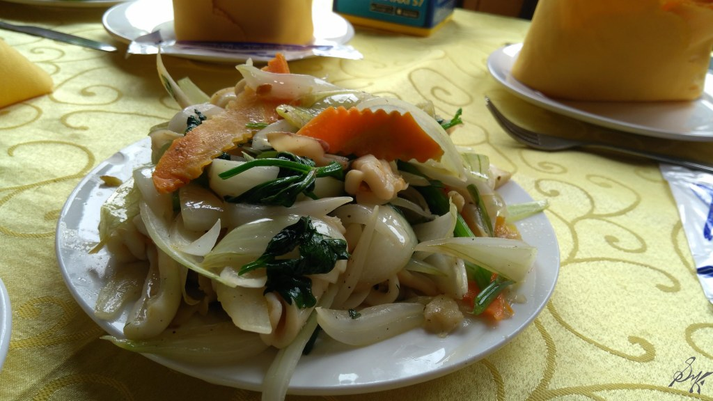 Squid salad, Ha Long Bay, Vietnam
