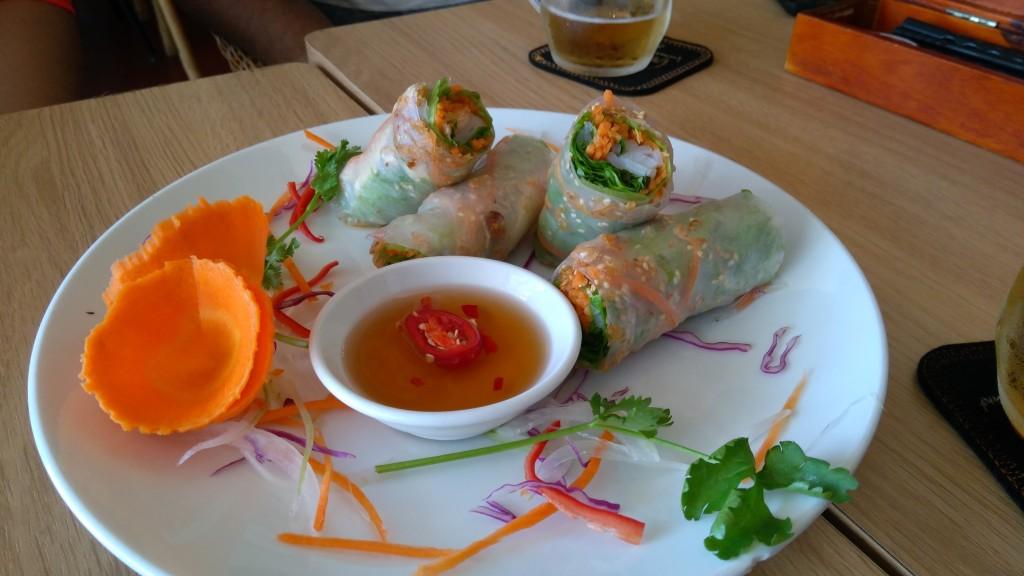 Spring rolls, Hoi An