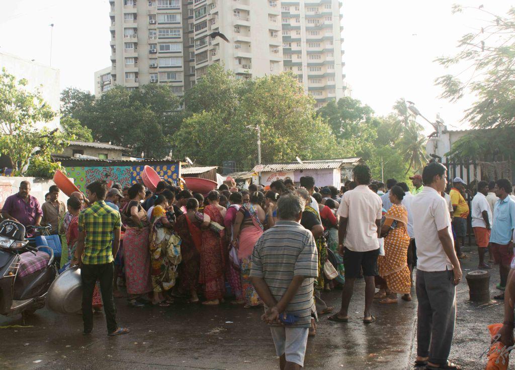 Fish Auction in Progress, Sassoon Docks, Mumbai, India